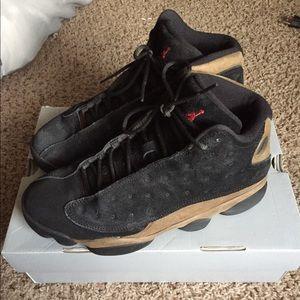 Air Jordan Retro 13's Olives